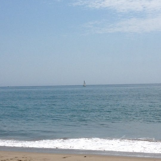 Photo taken at Pacific Palisades Beach by Krista M. on 8/17/2012