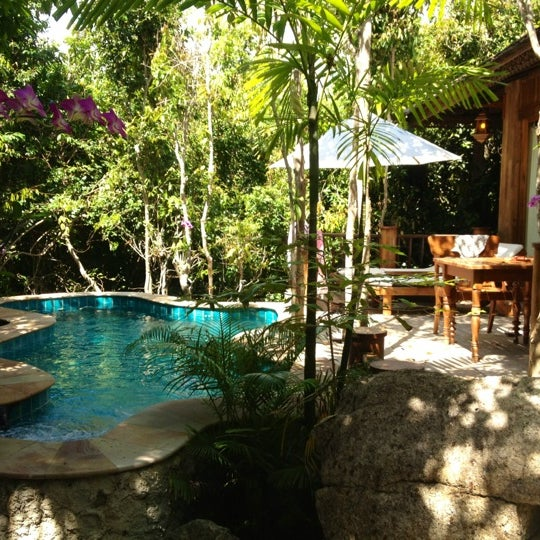 Photo taken at Santhiya Resort And Spa Koh Phangan by A. K. on 3/15/2012
