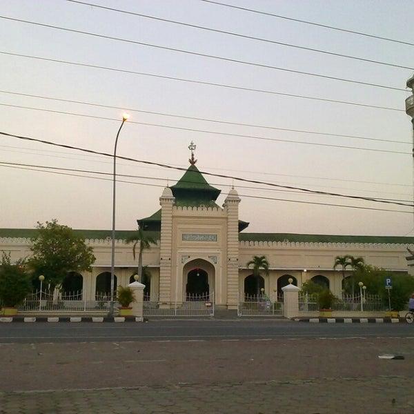 Photo taken at Masjid Jami' Kauman Pekalongan by Kofal N. on 12/5/2013