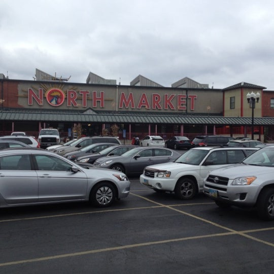 Photo taken at North Market by Martin C. on 11/24/2012
