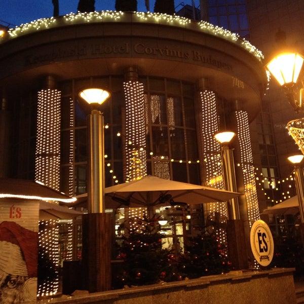 Photo taken at Kempinski Hotel Corvinus Budapest by Zoltán Barthalos on 12/4/2014