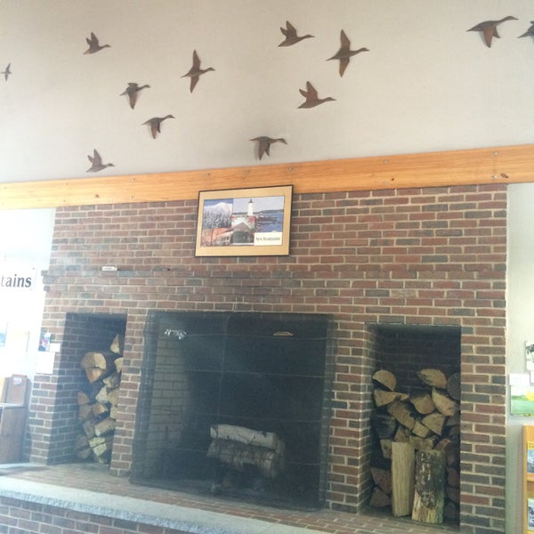 Photo taken at Seabrook Rest Area & Welcome Center by E m m a r i n on 7/3/2015