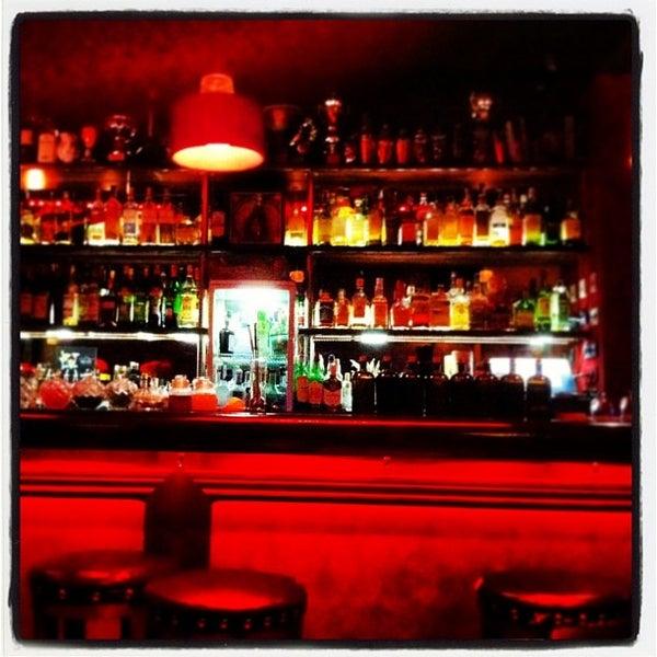 Photo taken at Slow Barcelona Cocktails & Boîte by Enrique R. on 1/11/2014