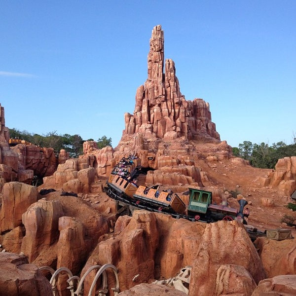 Big Thunder Mountain Railroad Walt Disney World Resort
