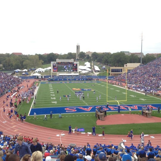 Photo taken at Memorial Stadium by Kevin N. on 9/15/2012