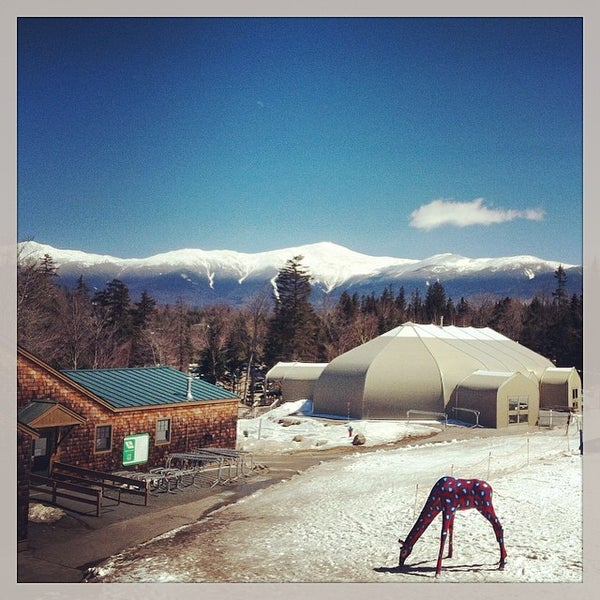 Photo taken at Bretton Woods by Rich on 4/6/2014