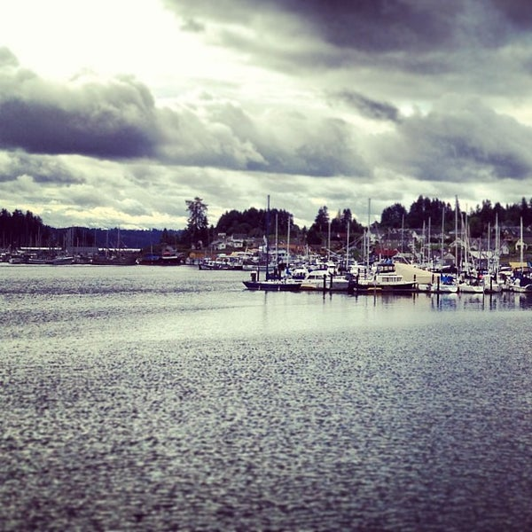 Photo taken at Gig Harbor Waterfront by Robby on 5/28/2013