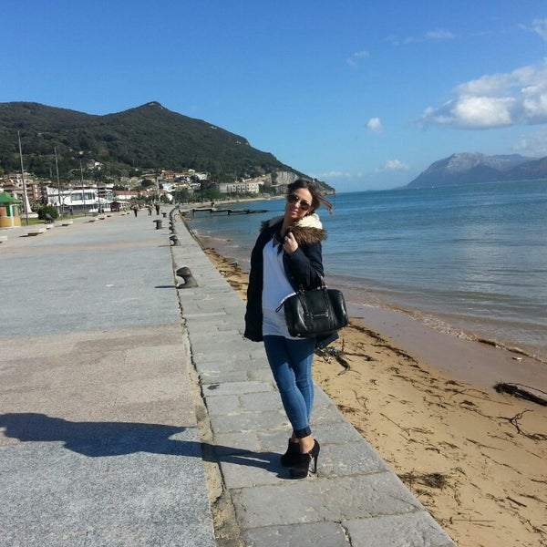 Photo taken at Santoña by pablo b. on 2/16/2014