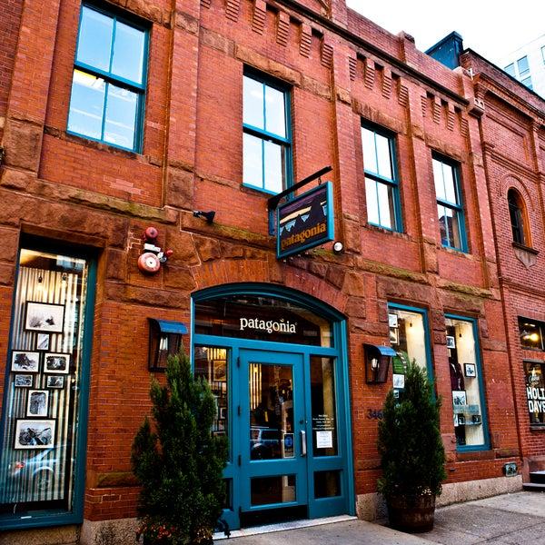 Boston clothing store