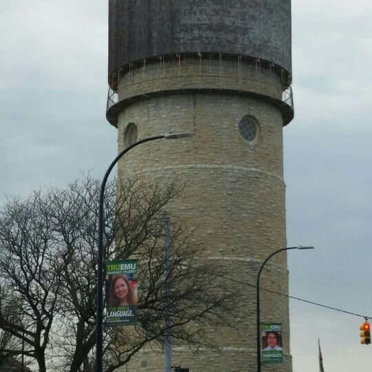 Photo taken at Ypsilanti Water Tower by Russ H. on 4/20/2016