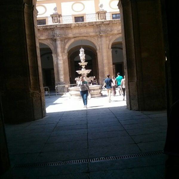 Photo taken at Facultad de Filología by Gius E. on 6/23/2014