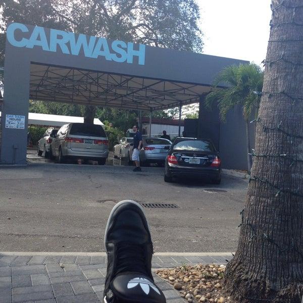 Photo taken at Karma Car Wash by Roy Adam L. on 2/8/2014