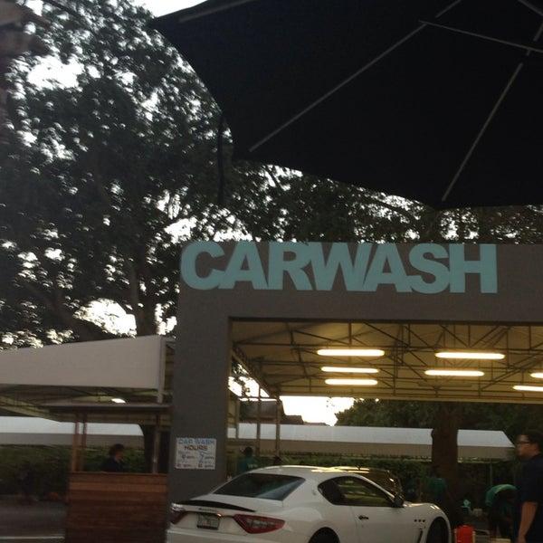 Photo taken at Karma Car Wash by Roy Adam L. on 12/7/2013
