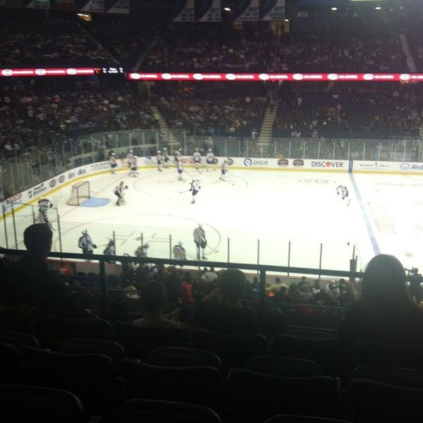 Photo taken at Allstate Arena by Erik M. on 1/6/2013