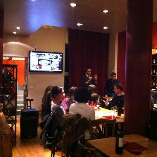 Photo taken at Vinodromo by Cristina S. on 11/21/2012