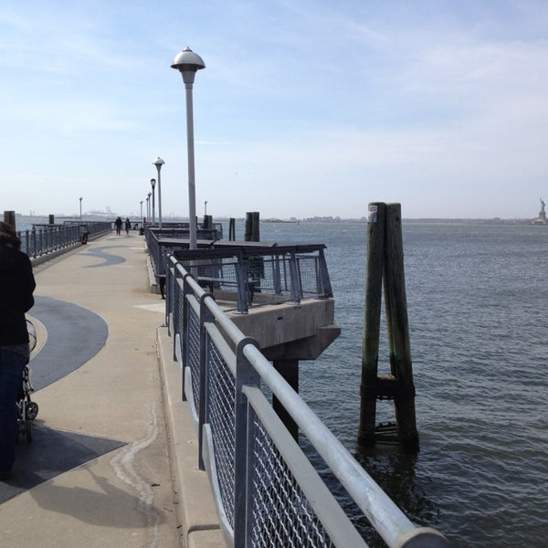 Photo taken at Louis Valentino, Jr. Park & Pier by victor z. on 4/7/2013