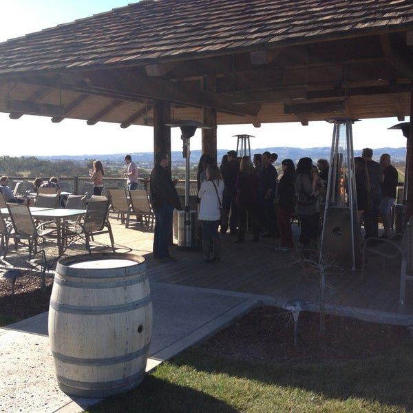 Photo taken at Eberle Winery by Darik S. on 2/9/2013