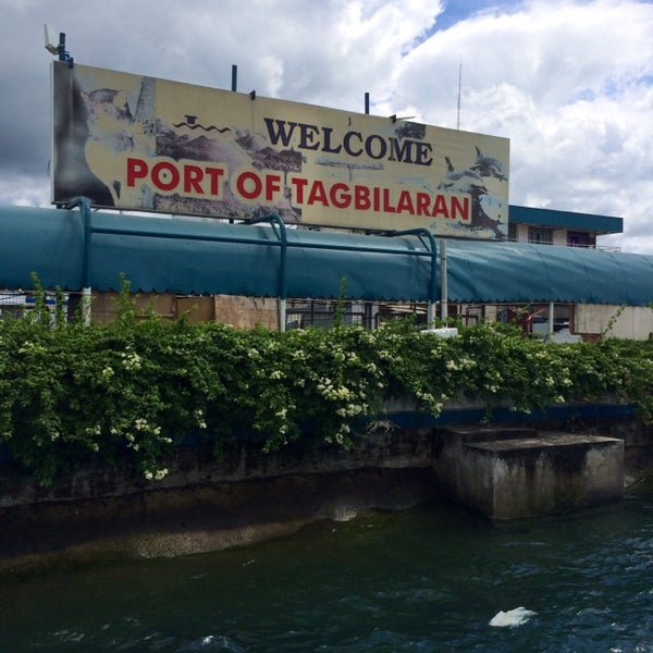 Photo taken at Tagbilaran City Bohol Port by Cleo P. on 4/3/2014