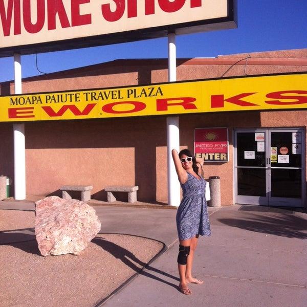 Photo taken at Moapa Paiute Travel Plaza / Chevon Gas by Jack W. on 3/15/2014