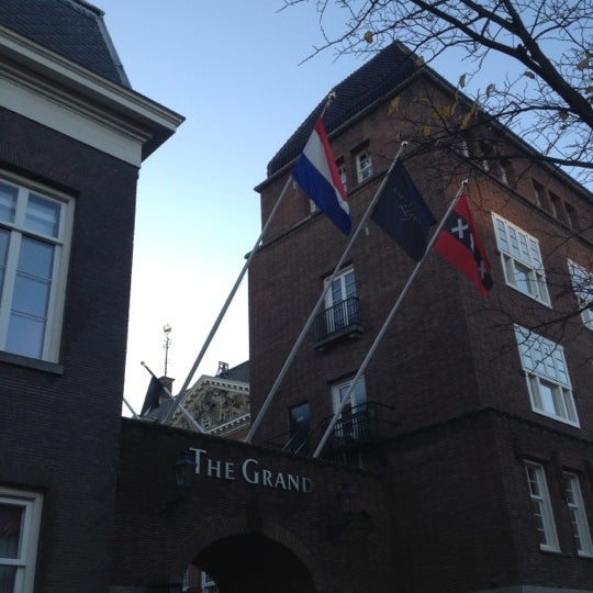 Photo taken at Sofitel Legend The Grand Amsterdam by Stefan M. on 11/29/2012