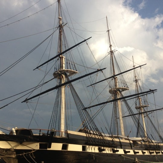 Photo taken at USS Constellation by Robert B. on 9/22/2012