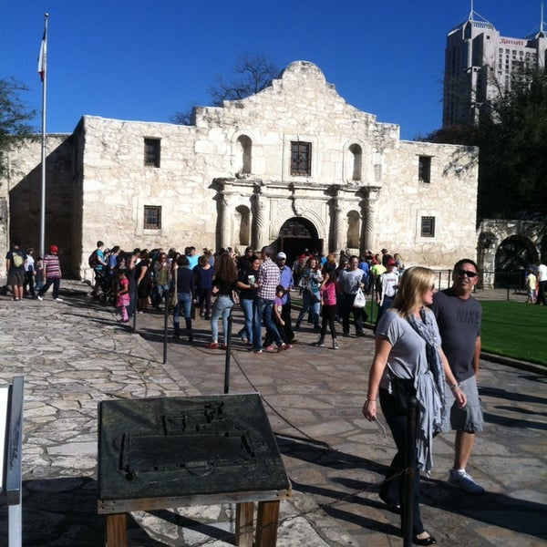 Photo taken at The Alamo by Blake W. on 3/11/2014