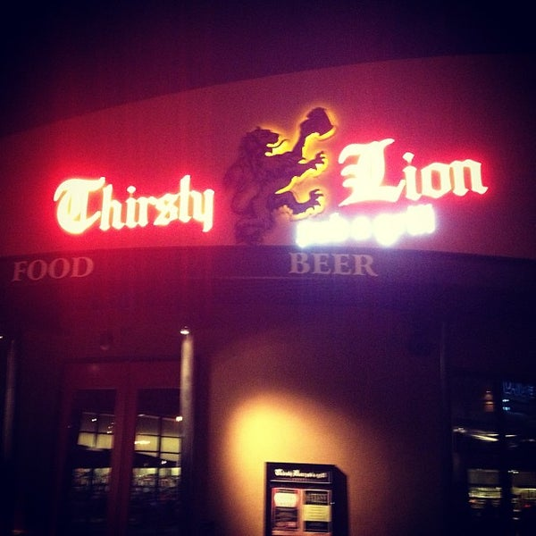 Photo taken at Thirsty Lion Pub & Grill by @RalphPaglia #. on 1/25/2013