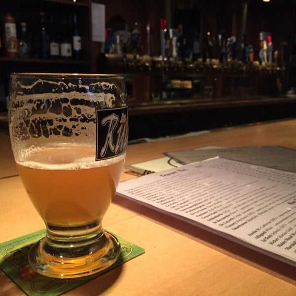 Photo taken at Novare Res Bier Cafe by Joe C. on 1/4/2015