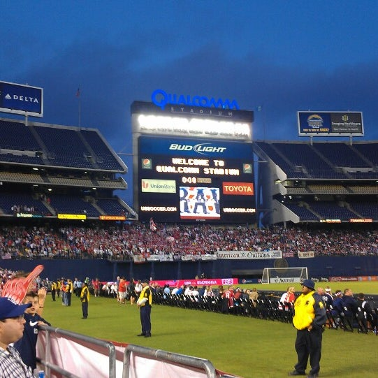 Photo taken at Qualcomm Stadium by Loren on 7/6/2013