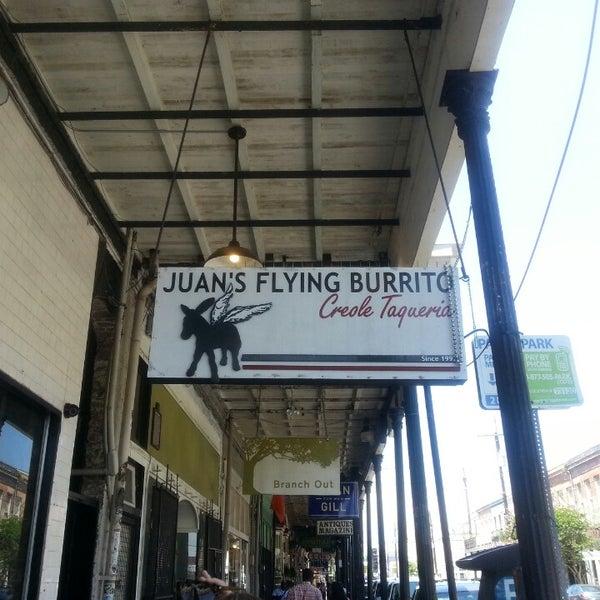 Juan 39 S Flying Burrito Mexican Restaurant In Lower Garden District