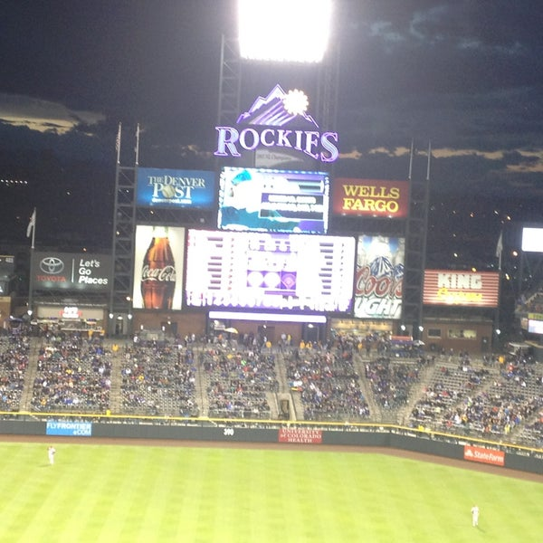 Photo taken at Coors Field by Yodit T. on 5/21/2013