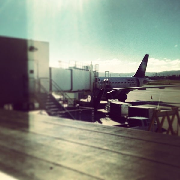 Photo taken at Terminal A by Rebeca C. on 12/27/2012