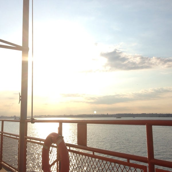 Photo taken at Staten Island Ferry Boat - Guy V. Molinari by Elizabeth M. on 7/11/2014