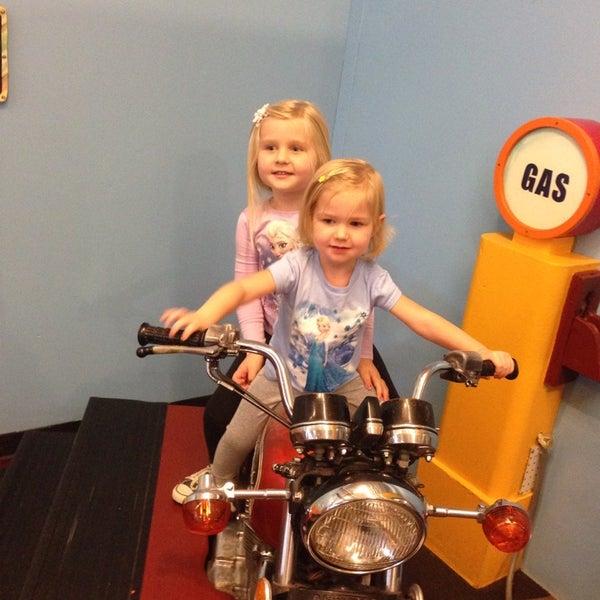 Photo taken at Long Island Children's Museum by Erik V. on 10/2/2014