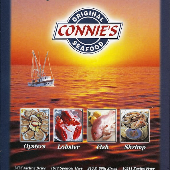 Connie 39 s seafood market restaurant greater heights for Fresh fish market houston