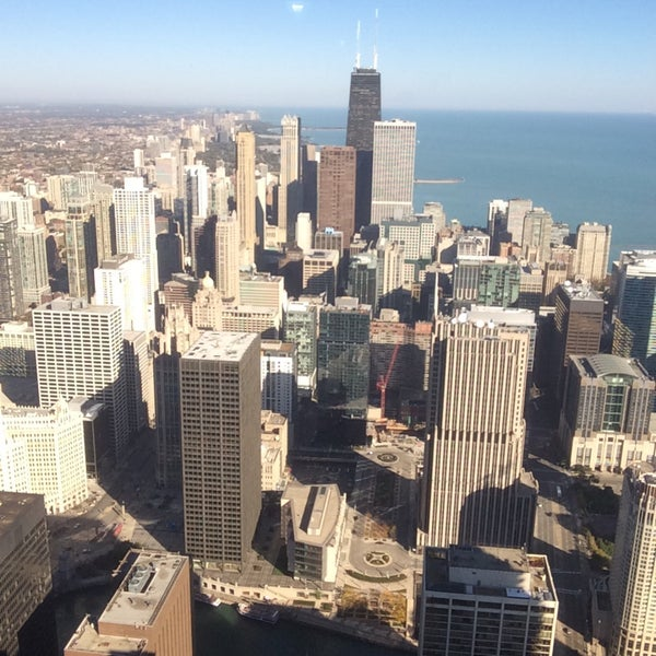 Photo taken at Aon Center by Stephen O. on 10/18/2015