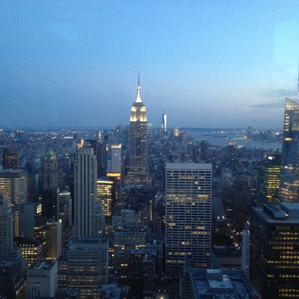 Top Of The Rock Observation Deck Scenic Lookout In