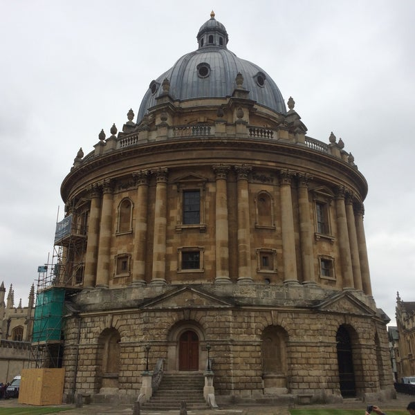 Photo taken at Radcliffe Camera by Giovanna L. on 7/15/2015