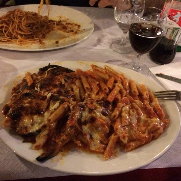 Photo taken at La Trattoria da Tonino by Ana V. on 2/19/2014