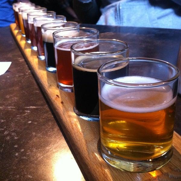 Photo taken at Portsmouth Brewery by Gizem K. on 3/16/2013
