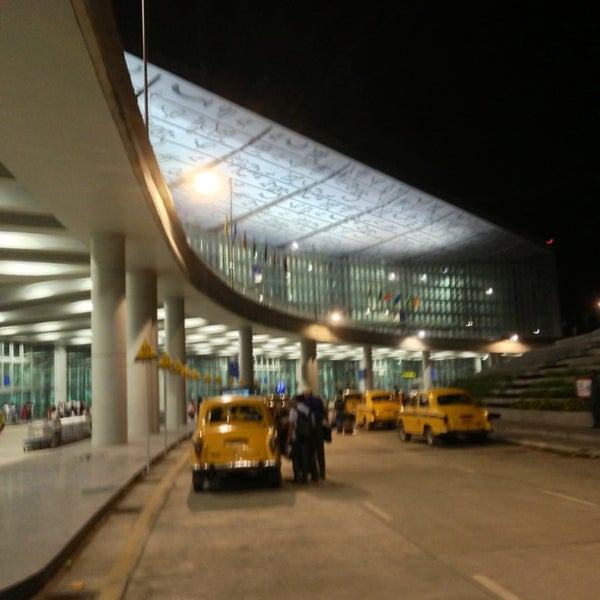 Photo taken at Netaji Subhash Chandra Bose International Airport (CCU) by Behzad A. on 7/21/2013