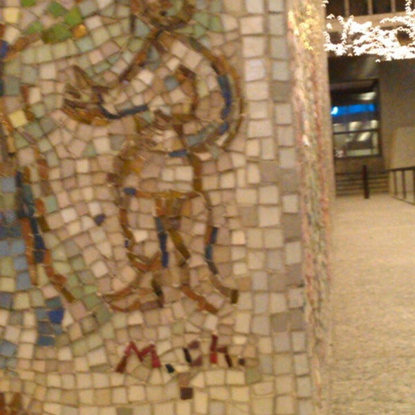 "Photo taken at Chagall Mosaic, ""The Four Seasons"" by Peter P. on 12/1/2013"
