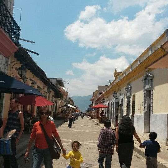 Photo taken at Andador Real de Guadalupe by Mafe O. on 3/28/2014