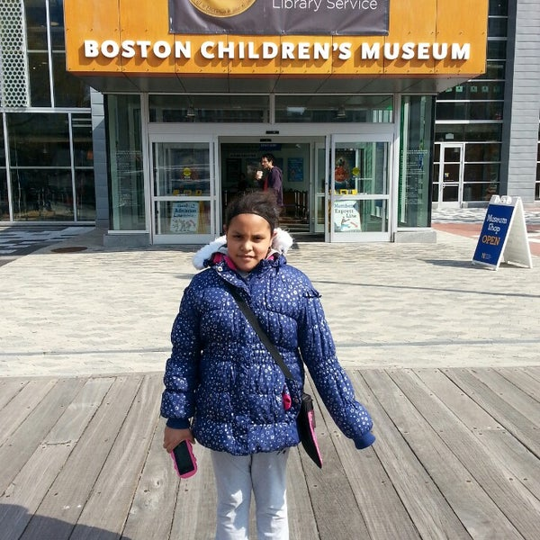 Photo taken at Boston Children's Museum by LA REYNA K. on 4/13/2014