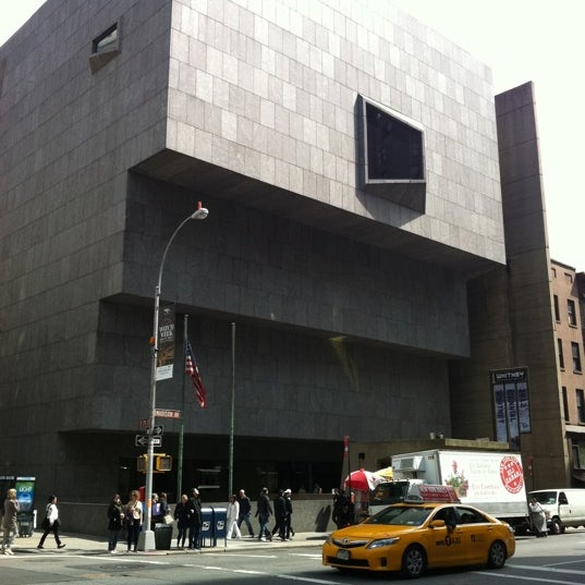 Photo taken at Whitney Museum of American Art by Nicolas P. on 4/28/2012