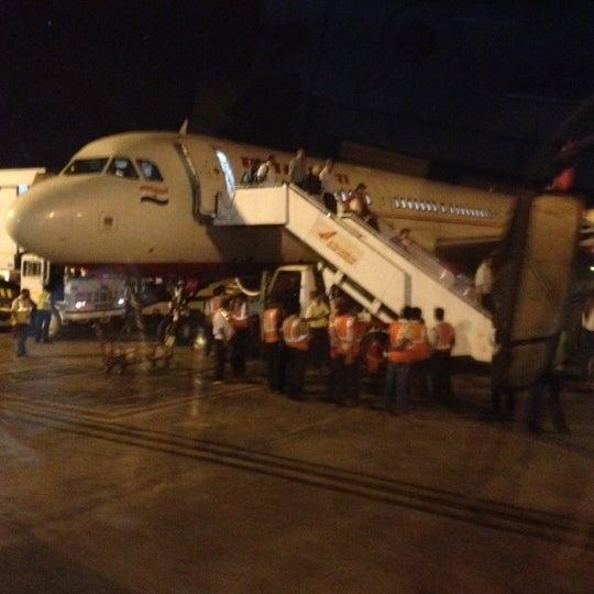 Photo taken at Dabolim Goa International Airport (GOI) by Sergey K. on 4/4/2012