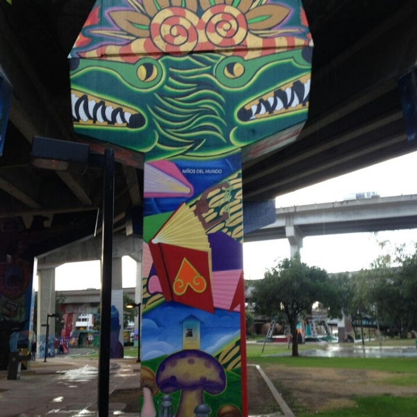 Photo taken at Chicano Park by Javier M. on 2/22/2013