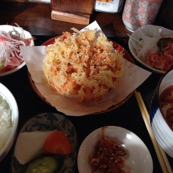 Photo taken at 食堂さくら屋 by satopyon_s on 12/26/2013