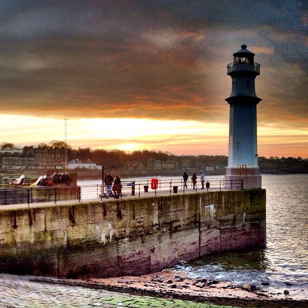 Photo taken at Newhaven Harbour by Ewan M. on 11/16/2014