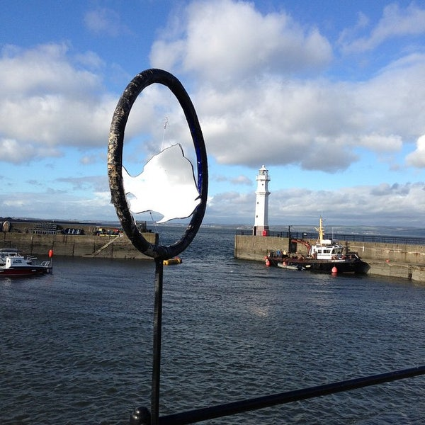 Photo taken at Newhaven Harbour by Ewan M. on 10/25/2014